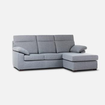 Amalia divano 3 posti maxi con penisola reversibile