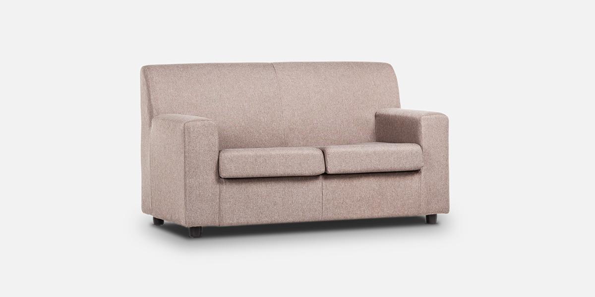 Flora un divano minimal adattabile a tutti gli ambienti - Divano poco profondo 2 posti ...