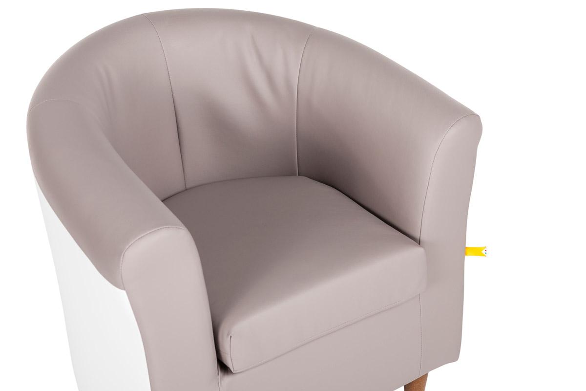 Poltrona-Pozzetto-bicolore-dettaglio-3 - Gamma sas -