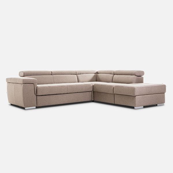Gamma Salotti - produzione divano angolare componibile