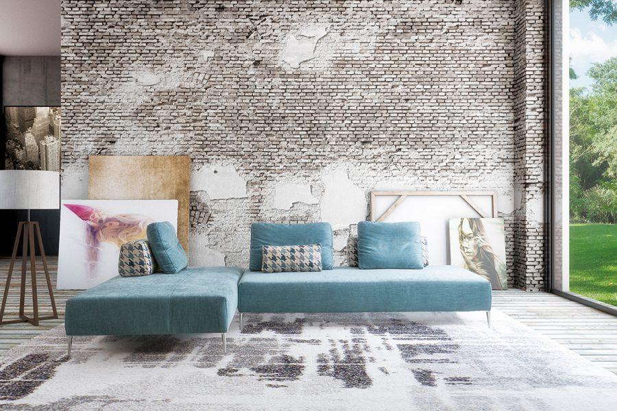 """Edward, il divano modulare che si ispira ai """"suffa"""" arabi"""