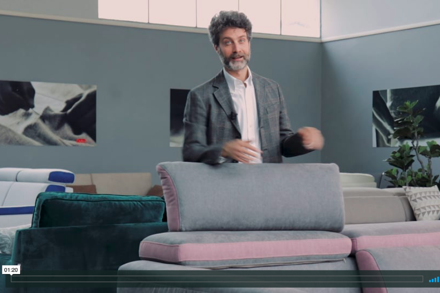 I nuovi tessuti Techno Water Clean per vivere in serenità il tuo divano