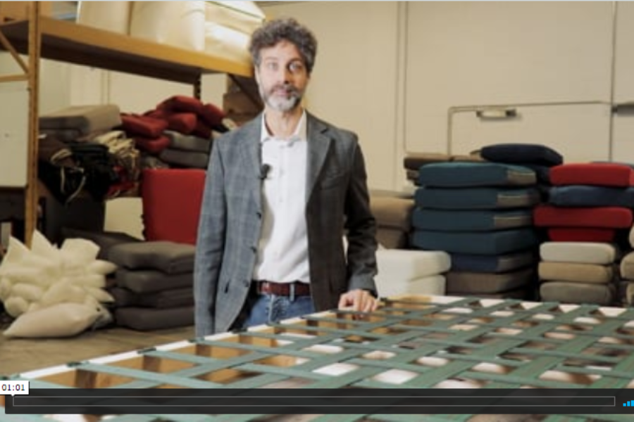 Come nasce un divano Gamma Salotti?